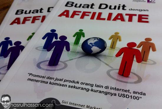 Buku buat duit dengan affiliate