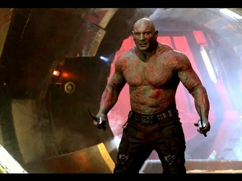 Drax le destructeur, gardien de la galaxie (Dave Bautista)