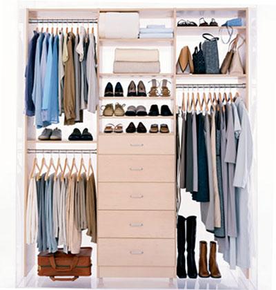 Mirian decor closet boas dicas - Ideas for small closet space image ...