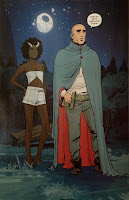 Slave Girl gets a new name in Brian K Vaughan's Saga.