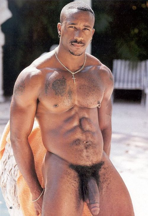 Black men magazine nudes