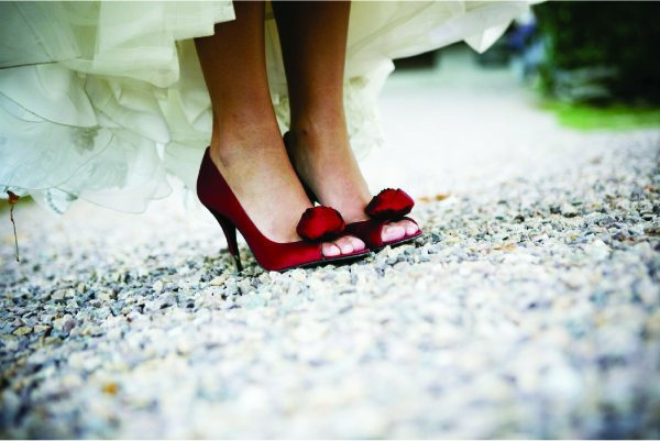 Guest Post Wedding Day Shoes