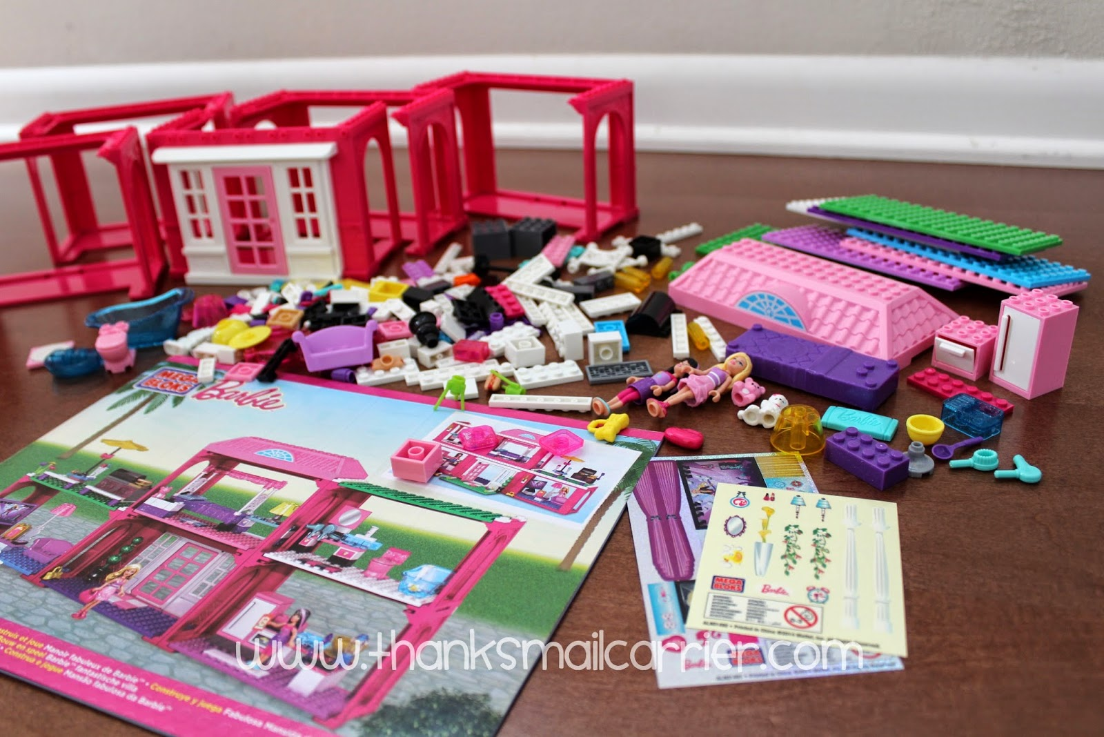 Mega Bloks Barbie pieces