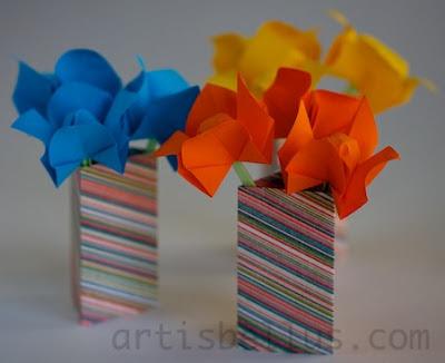 Origami Flowers: Jasmines