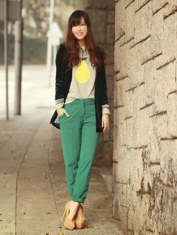 Fashion Emerald Pants Outfit