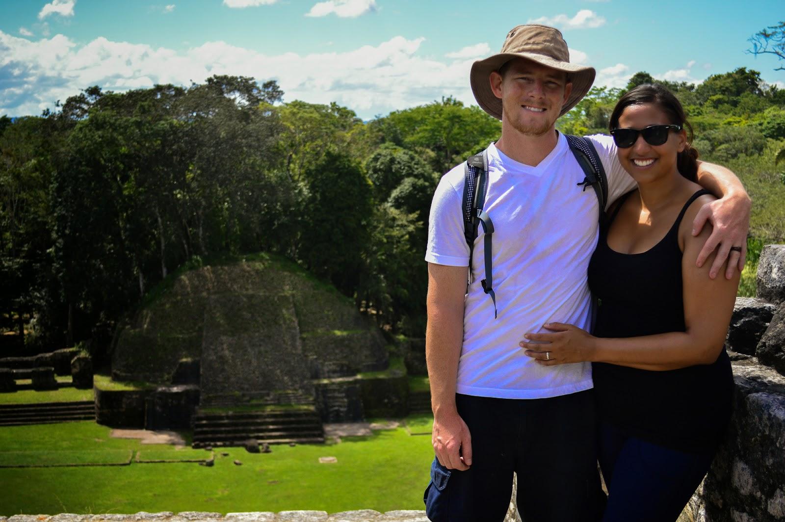 Mayan ruins of Caracol