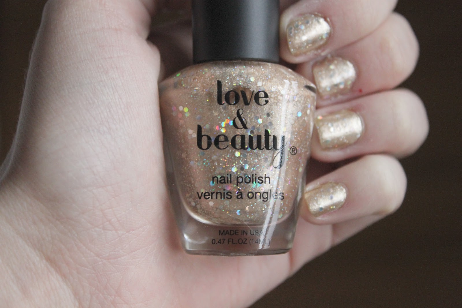Painted with Nostalgia: Nail of the Day + Review: Love & Beauty Nail ...