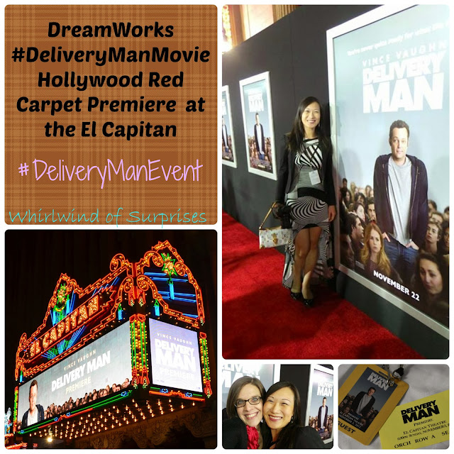 Attending DreamWorks #DeliveryManMovie's Red carpet premiere #DeliveryManEvent