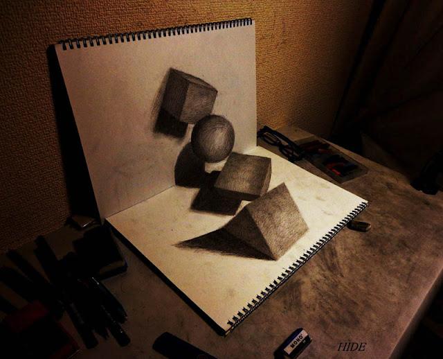 لوحات ثلاثية الأبعاد 3D+Pencil+Drawings+05