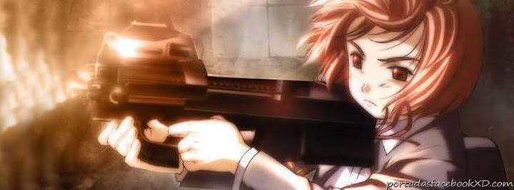 niña anime, portada de facebook