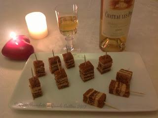 Accord met vin, foie gras et rivesaltes ambré