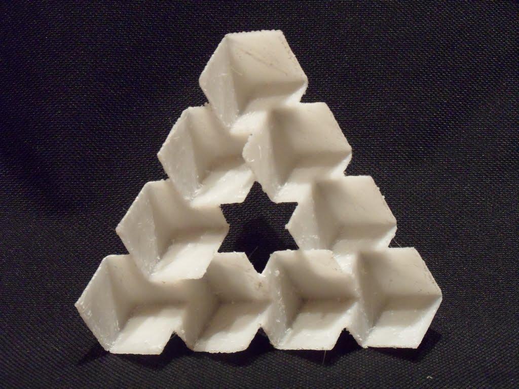 Penrose Triangle Cubes The Penrose Triangle I...