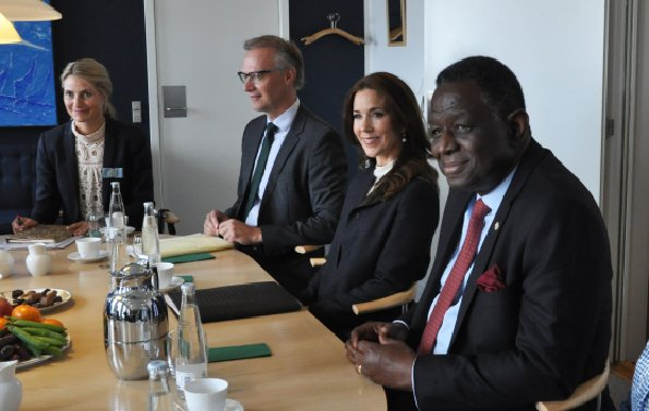 Crown Princess Mary Attended A Meeting In Copenhagen