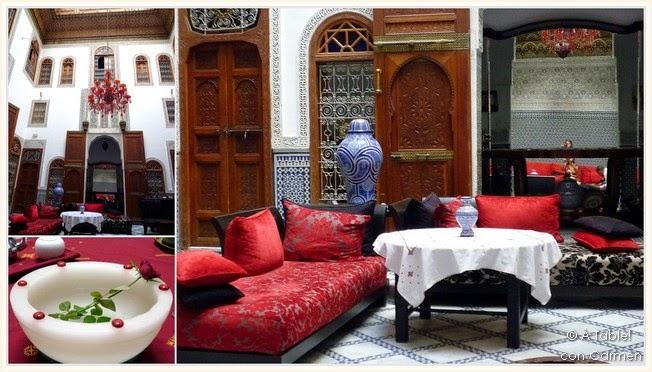 Decoracion Arabe Moderna ~ ? table ! con Carmen Fez Laberinto de callejas, Medersas y Olor a