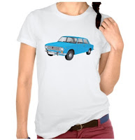 VAZ-2101 t-shirt tröja skjorta blue