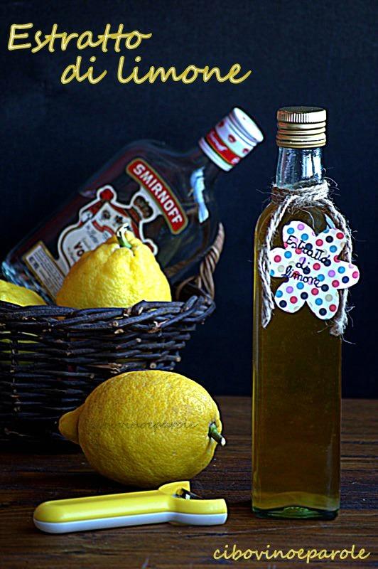 ricetta dell' estratto di limone