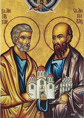 JUNE 29 - SOLEMNITY OF ST PETER & ST PAUL, APOSTLES