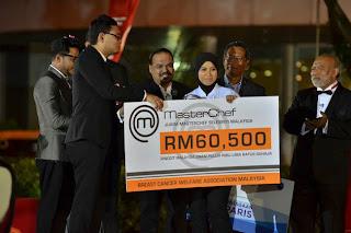 BCWA menerima sumbangan daripada Syura Juara Masterchef Seleberiti Musim Ke-2