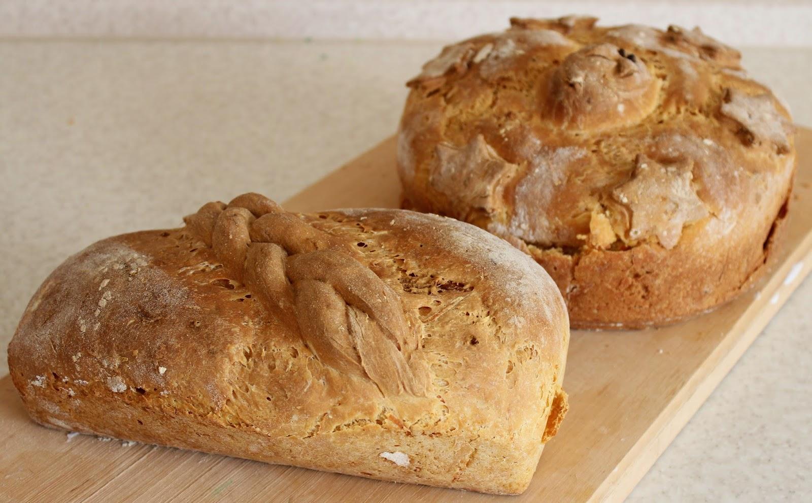 хлеб, морковно-чесночный