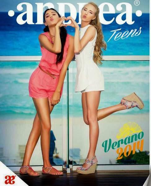 catalogo andrea teens verano 2014