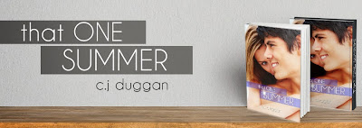 http://thethreebookateers.wordpress.com/blog-tour-schedule-that-one-summer-by-c-j-duggan/