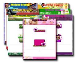 Minisite Blogger