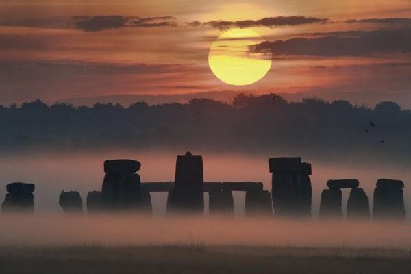 fotografías impresionantes, paisajes, solsticio, Stonehenge