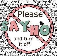 Zeg nee tegen woordverificatie!