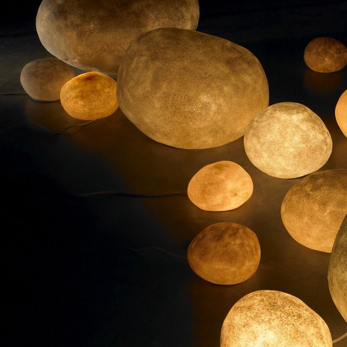 ambient rock light lamps modern design by
