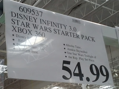 Deal for the Disney Infinity 3.0 Star Wars Starter Pack at Costco