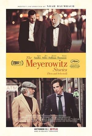 Os Meyerowitz - Família não Se Escolhe Filmes Torrent Download capa
