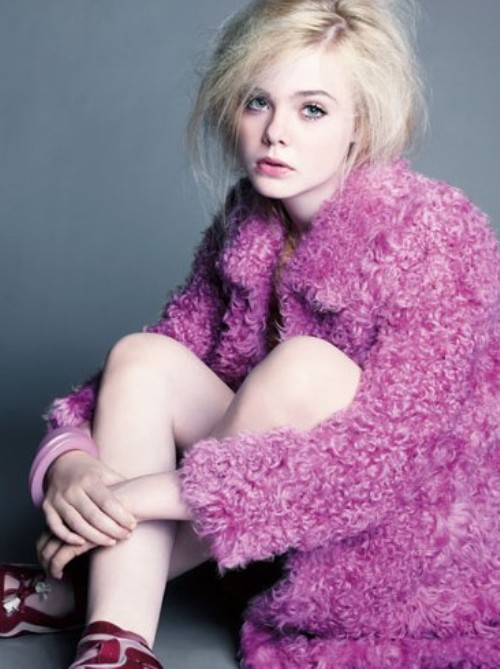 Elle Fanning on  Marie Claire Magazine 7/2011