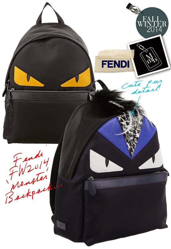 Backpack Fendi Monster Price