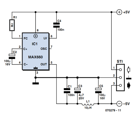 simple and small power inverter circuit diagram