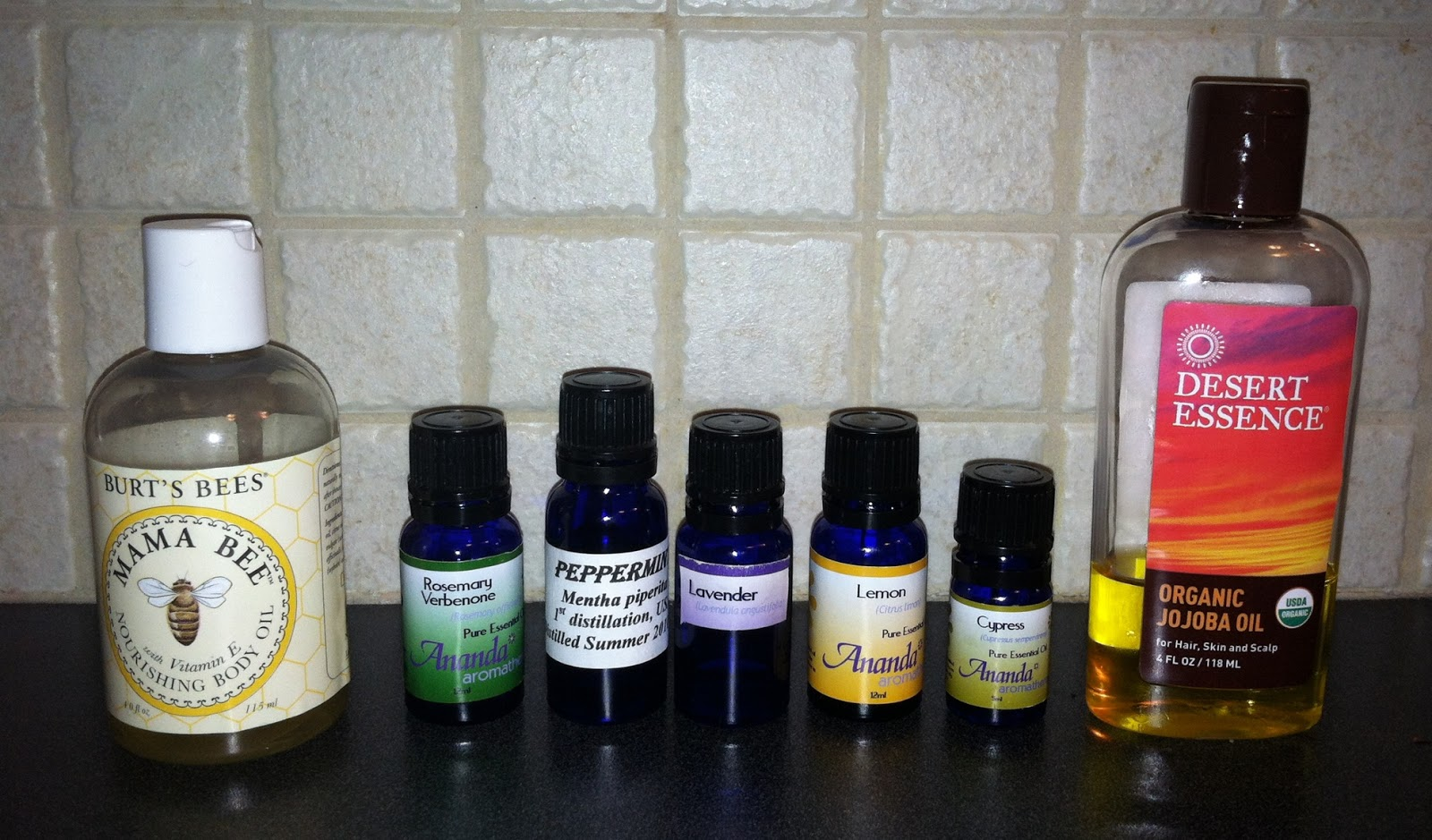 Sea Glass Stash: Nail Strengthener Homemade Essential Oil Blend
