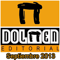 Dolmen Editorial: Novedades Septiembre 2013