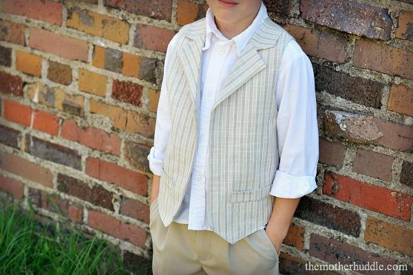 boys vest pdf pattern