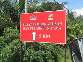 Road signage papan tanda jalan