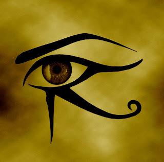 Ojo de horus Udyat símbolo egipcio fuerza protectora