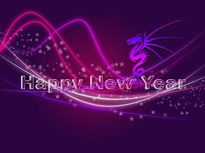 New Year Desktop Background
