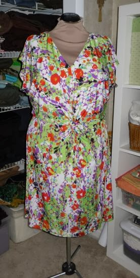 The top from Simplicity 3768 also gets worn a lot. It's a rayon ...
