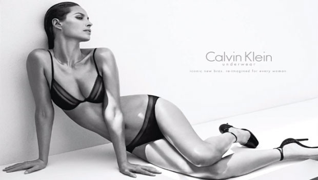 Calvin Klein Underwear Fall/Winter 2013 Campaign featuring Christy Turlington