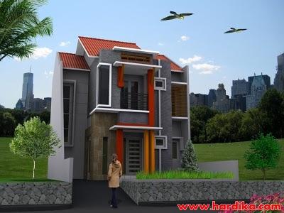 Desain Rumah Minimalis Type 36 Berlantai 2