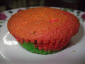 muffin rainbow