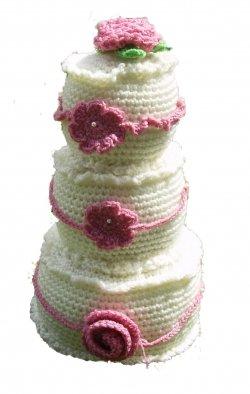 Crochet Pattern Amigurumi Dragon : 2000 Free Amigurumi Patterns: Crochet Wedding Cake Pattern