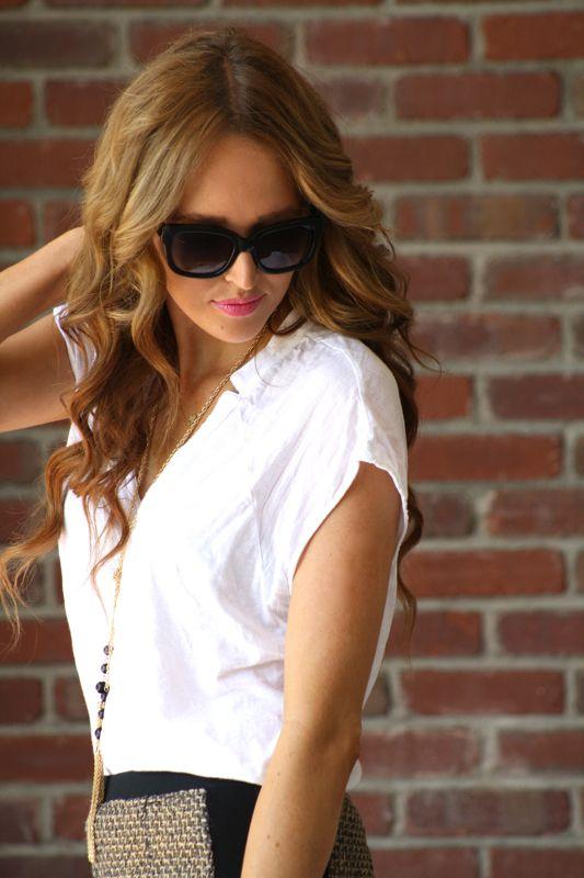 Tassel Necklace | Golden Divine Blog