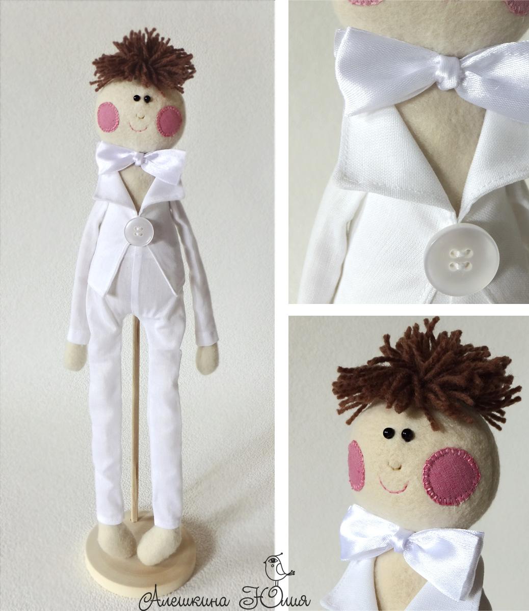 Старинная кукла для подарка молодоженам фото