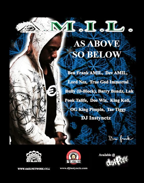 "AMIL ""As Above So Below"" mixtape"