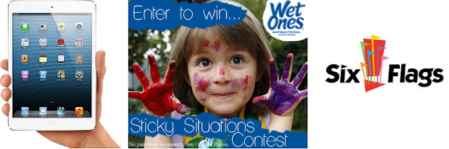 Wet Ones Sticky Situations Contest