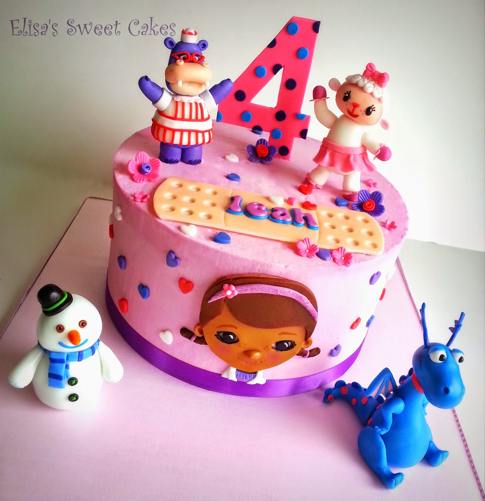 Doc Mcstuffins Sheet Cake Cakes gallery